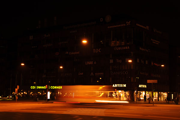 Earth Hour in Copenhagen