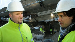 archeological sites Copenhagen, excavation Kongens Nytorv metro, spar30